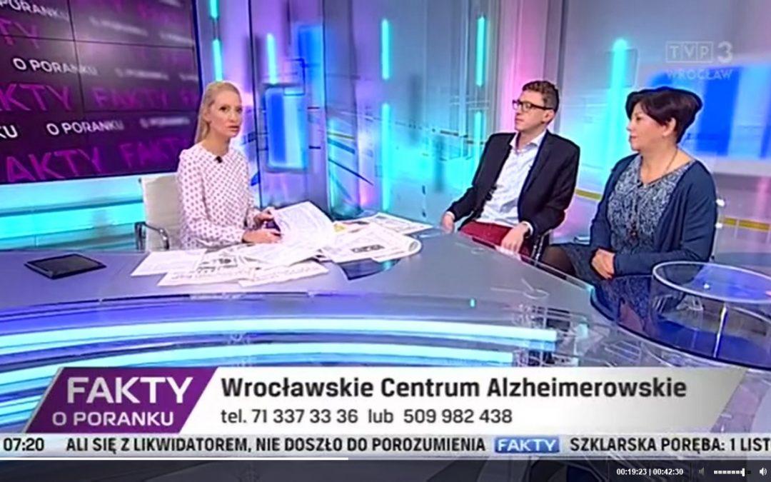 Specjaliści WCA gościli w TVP Wrocław!
