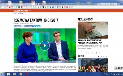 W TVP Wrocław rozmawiamy o badaniach klinicznych
