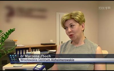 Dyrektor medyczny WCA w Wiadomościach o diagnostyce choroby Alzheimera